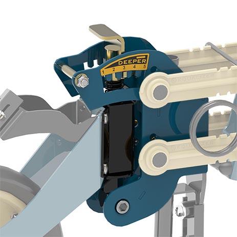 Equalizer Min-Till Tine Seeder depth adjustment | www.equalizer.co.za