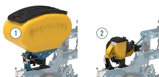 Equalizer Precision Planter seed hopper mini hopper | www.equalizer.co.za